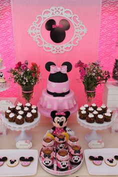 Don't miss this gorgeous Mickey Mouse birthday party. The cake is wonderful!! See more party ideas and share yours at CatchMyParty.com