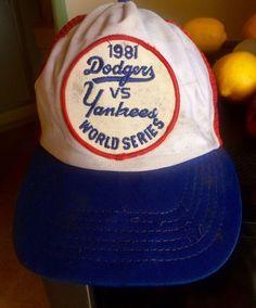 53eeebc6dc2 1981 World Series Dodger Yankees SnapBack American needle souvenir baseball  hat  AmericanNeedle  DodgersandYankees 1981