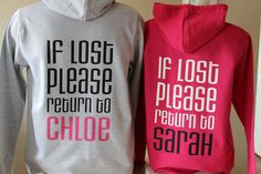 Best Sweatshirt Collections – Best Fashion Advice of All Time Best Friend Sweatshirts, Best Friend T Shirts, Bff Shirts, Best Friend Outfits, Best Friend Photos, T Shirts With Sayings, Cute Shirts, Best Friends, Friends Shirts