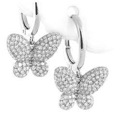Gemstone And Diamond Drop Earrings