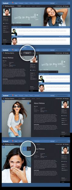 Facebook New Look par Fred Nerby