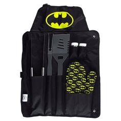 Kit para Churrasco Batman