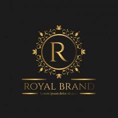 Logo Luxury with Golden Color Premium Vector Luxury Logo Design, Web Design, Wedding Background, Background Banner, Vector Background, Logo Royal, Style Alphabet, Classic Business Card, Business Logo