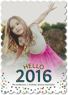 Hello 2016! The New Year is upon us, say hello. New Year holiday cards to say happy holidays and beyond.