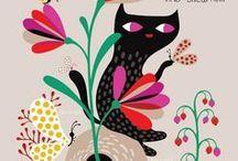 ilustrações de gatos - Pesquisa Google