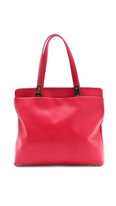 Maison Martin Margiela Coral Leather Tote Bag - Wantering