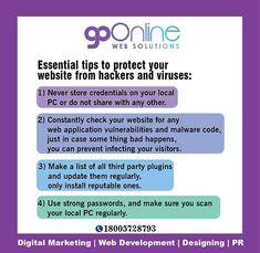 Go Online, Contact Us, Your Website, Web Application, Chandigarh, Vulnerability, Web Development, Internet Marketing, Just In Case