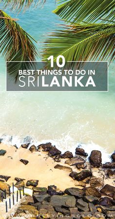 The 10 Best Things to do in Sri Lanka! Dream Big Travel More // Dream Big Live Tiny // Things to Do in Sri Lanka // Places to See in Sri Lanka // Must Do in Sri Lanka Places To Travel, Travel Destinations, Travel Tips, Places To Visit, Best Holiday Destinations, Travel Guides, Sri Lanka Photography, Travel Photography, Photography Guide