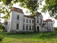 The abandoned estate of the Czetwertynski family in the village of Zaludok, Grodno Region, Republic of Belraus. (former USSR).