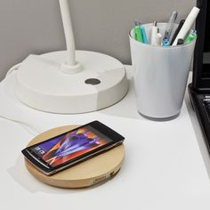In Stores Soon: Ikea's Gamechanging Furniture Line with Built-In Wireless Charging - Ikea Watch - Curbed National Ikea Wireless Charging, Ikea Office Organization, Decoration For Ganpati, Artwork For Home, Ikea Home, Interior Design Tips, Interior Walls, Simple, Home Goods