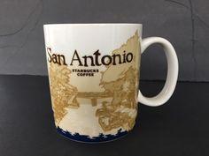 Starbucks San Antonio River Walk Global Icon Collectible Coffee Mug Cup 16 oz  #Starbucks