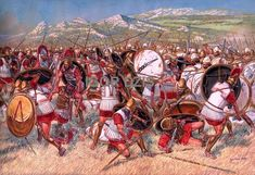 The Battle of Nemea (394 BC) was a battle in the Corinthian War, between Sparta and the allied cities of Argos, Athens, Corinth, and Thebes. The battle was fought in Corinthian territory, at the dry bed of the Nemea River. The battle was a decisive Spartan victory, which, coupled with the Battle of Coronea later in the same year, gave Sparta the advantage in the early fighting on the Greek mainland.