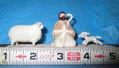 Hagen-Renaker NATIVITY Lamb Sheep  SHepherd Ram Ewe Baa