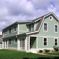 Dutch Colonial addition/remodel ~ Green