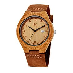 CUCOL Wooden Watches For Men Date Fashion Casual Watch Genuine Brown Leather Strap With Wood Watch Box CUCOL http://www.amazon.com/dp/B01A6GRWH6/ref=cm_sw_r_pi_dp_MIFfxb0RTEX79