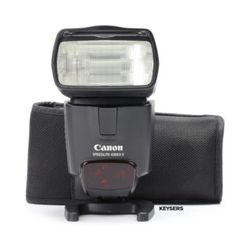 The #Canon 430EX II #Speedlite is an awesome flash! A Canon 430EX II Speedlite is a must-have for photographers! #photoshoot #studiophotography #documentyourdays Used Cameras, Camera Equipment, Canon, Photographers, Photoshoot, Awesome, Cannon, Photo Shoot