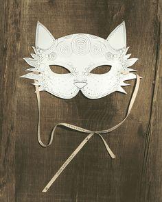 Máscaras de animales con preciosos diseños - DecoPeques