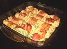 Involtini di pane Savoury Dishes, Antipasto, Original Recipe, Crepes, Macaroni And Cheese, Buffet, Sausage, Pizza, Food And Drink
