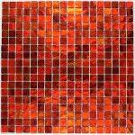 mosaique pour mur et sol en verre mv-glo-rou