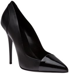 ae54beecaca7 Leather Pump - Deluxshionist s Lyst Leather Pumps