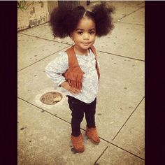 Ooooh! This girl is precious(: my baby girls gonna be this cute