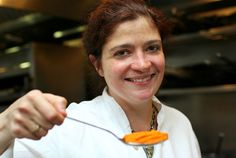 Chef Alex Guarnaschelli, Food Network star, judge on Chopped