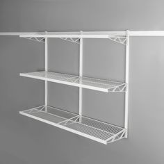 Shelf Kit 3-tier for the office, bedroom. kitchen, laundry.