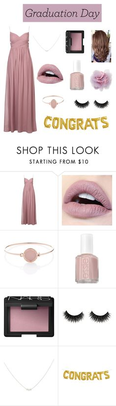 """""""xx Memories xx"""" by katherinexsj ❤ liked on Polyvore featuring Michael Kors, Essie, NARS Cosmetics, Accessorize, Cara, Graduation, Pink, lavender and polyvorecontest"""