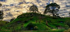 visiting bag end in New Zealand.