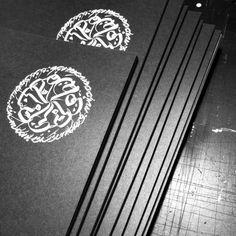 MINIMUM = MAXIMUM 2 / INK BY USUGROW 2014 - 2015 #usugrow #calligraphy #mural #illustration