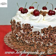 Black Forest Cake - From Calculu∫ to Cupcake∫ Cake Icing, Cupcake Cakes, Cupcakes, Mini Cakes, Dad Birthday Cakes, Birthday Ideas, Delicious Desserts, Yummy Food, Black Forest Cake