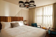 Stunning custom centrepiece fittings for the guestrooms of Hoxton Holborn, London