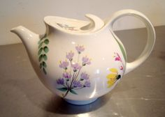 Hall Eva Zeisel Hallcraft Mid Century Teapot Bouquet