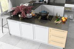 Max Kuchnie poleca!! Kitchen Island, Kitchen Cabinets, Home Decor, Google, Island Kitchen, Decoration Home, Room Decor, Cabinets, Home Interior Design