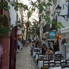 La Oliva, Ibiza town, restaurant tip in de oude stad!