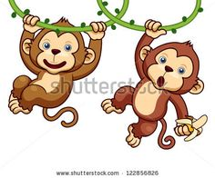 Cartoon monkey Stock Photos, Cartoon monkey Stock Photography ...