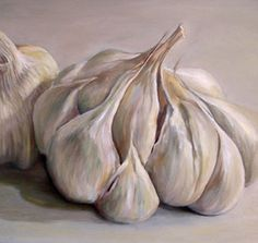 Garlic Paintings | Be aware that objects that are transparent or translucent offer added ...