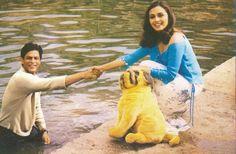 Shah Rukh Khan and Rani Mukherji -  Chalte Chalte (2003) Bollywood Wallpaper BOLLYWOOD WALLPAPER : PHOTO / CONTENTS  FROM  IN.PINTEREST.COM #WALLPAPER #EDUCRATSWEB