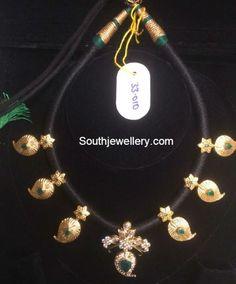 black_dori_mango_necklace