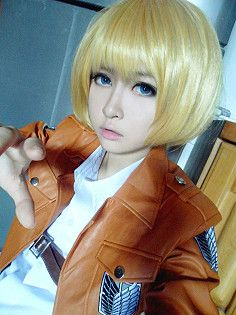 Attack on Titan: Armin Arlet Lemme just say, you look so much like him <3
