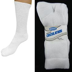 12 Pairs Diabetic Crew Circulation Socks Health Cushioned Support Mens Sz 9-11 - http://yourpego.com/12-pairs-diabetic-crew-circulation-socks-health-cushioned-support-mens-sz-9-11/?utm_source=PN&utm_medium=http%3A%2F%2Fwww.pinterest.com%2Fpin%2F368450813235896433&utm_campaign=SNAP%2Bfrom%2BHealth+Guide