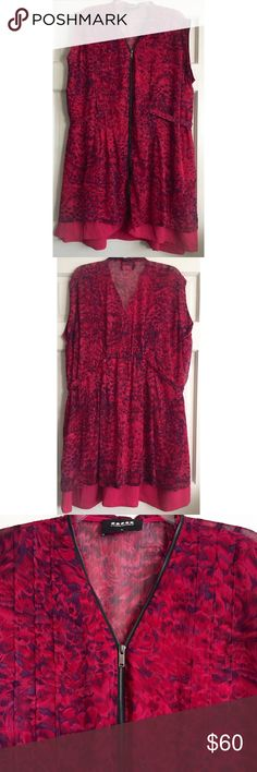 """🎉HOST PICK! Print Zip Through Dress CARMAKOMA / Feather Print Zip-Through Dress, NWOT *can be worn as tunic or dress, depending on height - Carmakoma XL= US Size 24 *Fits up to these measurements according to online size chart: Bust 53.5"""", Waist 47.5"""", Hip 55.5""""  - Silver zipper zips all the way through & wraps around neckline - Pintuck detail down front & back - Built in belt cinches waistline - 100% polyester, no stretch ✅ Brand new- never worn ✅ NO trades / NO low-balling ✅ List price is…"""