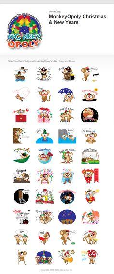 Details in MonkeyOpoly's sticker set II
