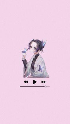 Music Shinobu Kocho Wallpaper Kimetsu no Yaiba Anime Otaku Japan Music Wallpaper, Aesthetic Iphone Wallpaper, Music Aesthetic, Aesthetic Anime, Pixel Animation, Manga Anime Girl, Anime Crossover, Otaku, Japan