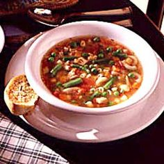 Quick Vegetable Soup Recipe- Recipes  While I enjoyed making soup from scratch, time doesn't often allow me to spend hours in the kitchen. This fast soup gets a head start from frozen vegetables and leftover meat.