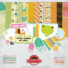 After School Special  Just purchased this kit from Kitschy Digitals!!!
