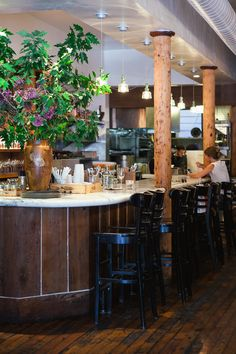 Love the look of this place.  Bar Tartine | San Francisco