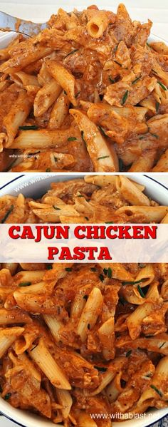 20 Minute Spicy Chicken Pasta dinner #EasyDinner #QuickRecipe #Pasta #Dinner Chicken #Spicy