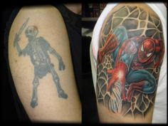 With great tattoo skills come great cover-ups, check out this awesome piece by Richie!