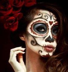 Dia de los muertos - Day of the dead makeup - Sugar skull makeup